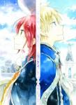 Shirayuki cheveu rouge visual 2