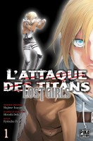 Manga - Manhwa - Attaque Des Titans (l') - Lost girls