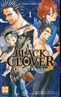 mangas - Black Clover - Quartet Knights