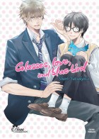 mangas - Glasses, love and blue bird