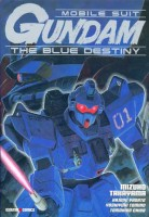 mangas - Mobile Suit Gundam - Blue destiny
