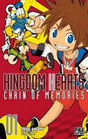 mangas - Kingdom Hearts - Chain of Memories