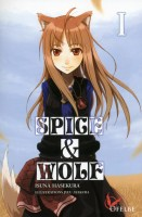 mangas - Spice and Wolf - Light Novel