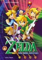 Manga - Manhwa - The Legend of Zelda - The Four swords adventures
