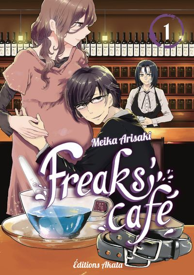 couverture freak's café