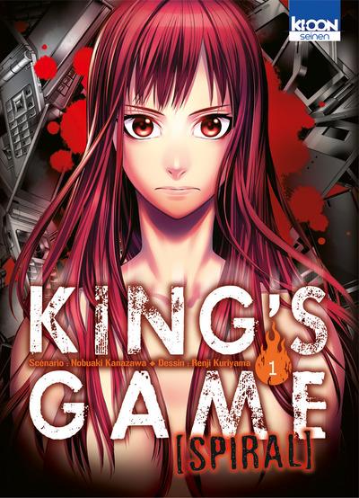 King's Game Spiral [Seinen] Kings-Game-spiral-1-ki-oon