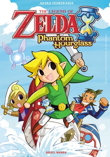 Manga - The Legend of Zelda - Phantom of Hourglass