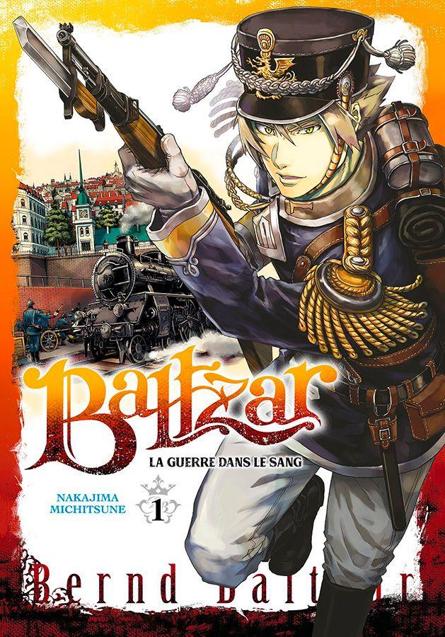 Manga - Baltzar - La guerre dans le sang