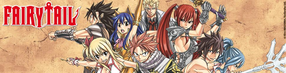 Fairy Tail - Manga