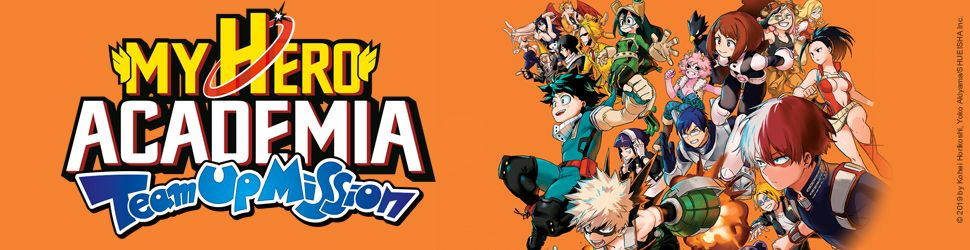 My Hero Academia - Team Up Mission - Manga