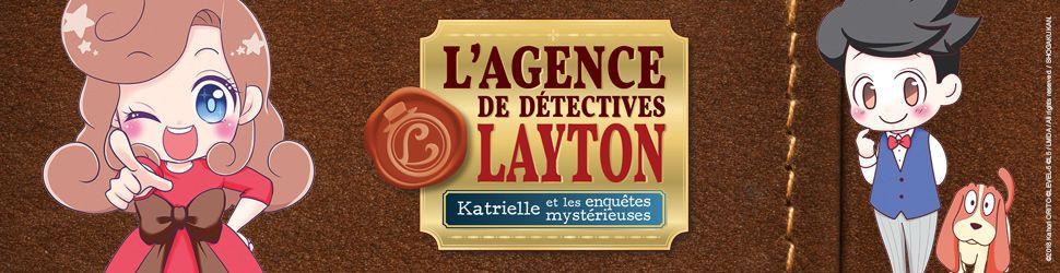 Agence de Détectives Layton - Katrielle et les Enquêtes Mysterieuses (l') - Manga
