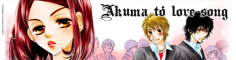 Akuma to love song - Manga