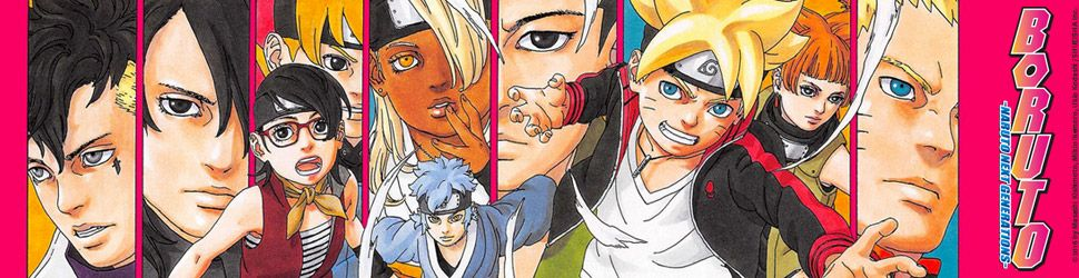 Boruto - Naruto Next Generations - Manga