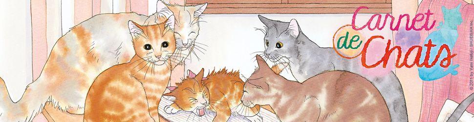 Carnet de chats - Manga