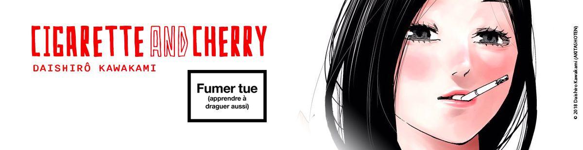 Cigarette & Cherry vo - Manga VO