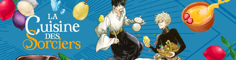 Cuisine des sorciers (la) - Manga
