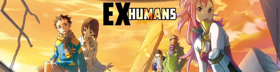 Ex-Humans - Manga