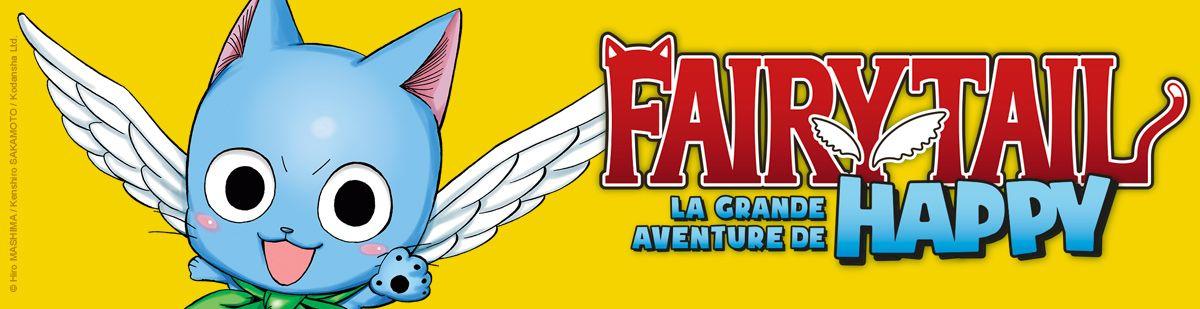 Fairy Tail - La Grande Aventure De Happy - Manga