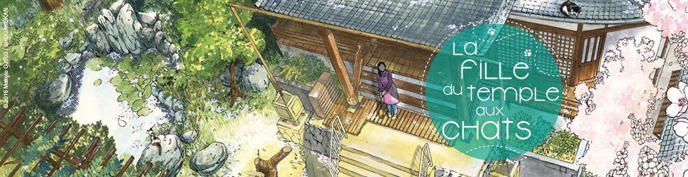 Fille du Temple aux Chats (la) - Manga
