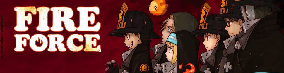 Fire Force - Manga
