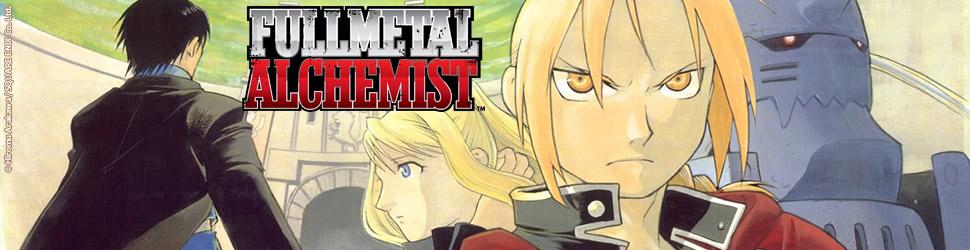 FullMetal Alchemist - Roman - Manga
