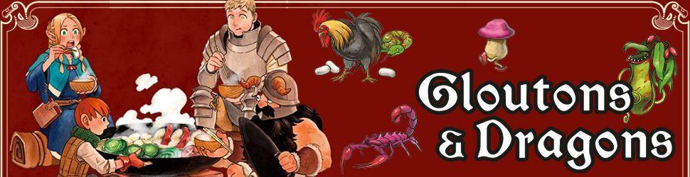 Gloutons et Dragons - Manga