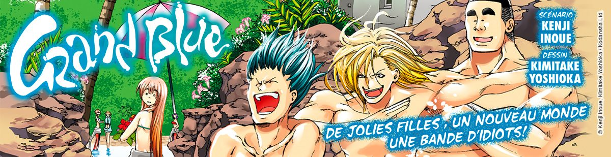 Grand Blue - Manga