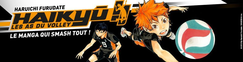 Haikyu !! - Les as du volley ball - Manga