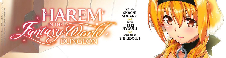 Harem in the Fantasy World Dungeon - Manga