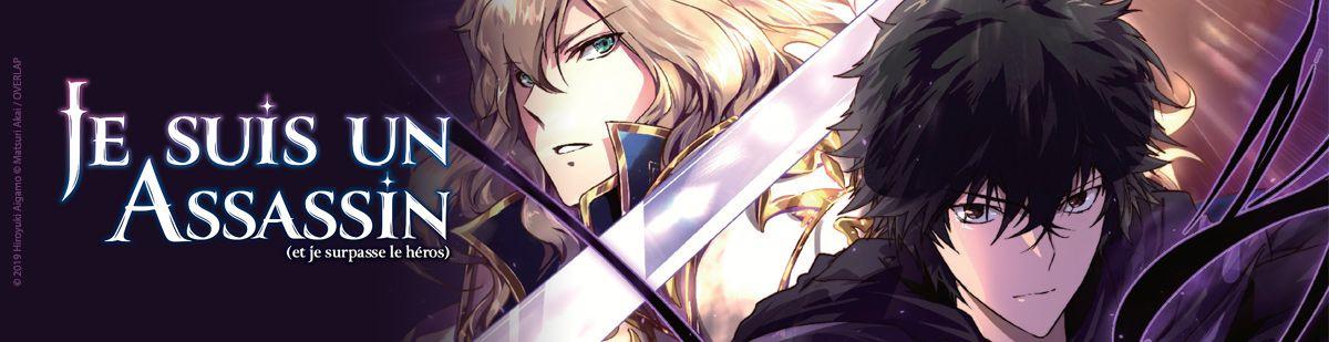 Je suis un assassin (et je surpasse le héros) - Manga