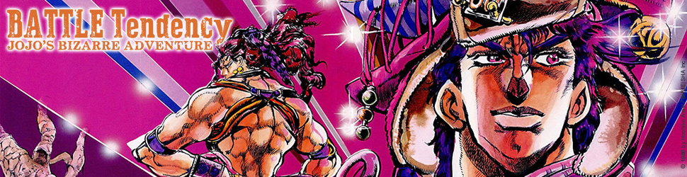 Jojo's bizarre adventure - Saison 2 - Battle Tendency - Manga