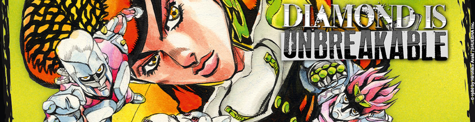Jojo's bizarre adventure - Saison 4 - Diamond is Unbreakable - Manga