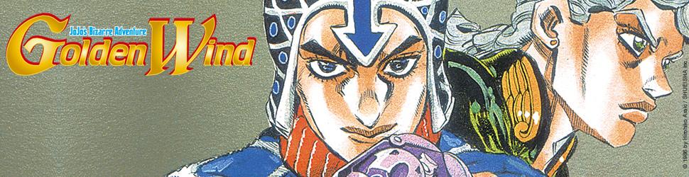 Jojo's bizarre adventure - Saison 5 - Golden Wind - Manga