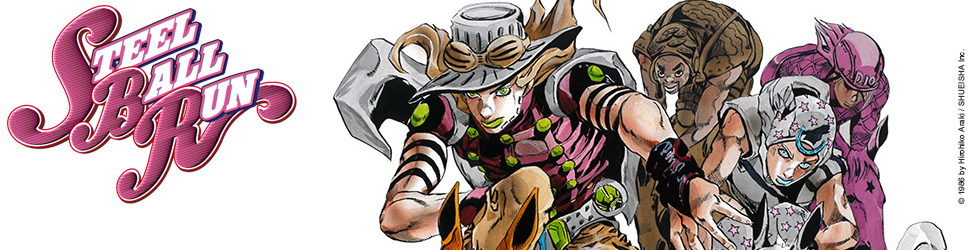 Jojo's bizarre adventure - Saison 7 - Steel Ball Run - Manga
