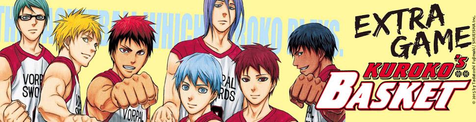 Kuroko's basket - Extra Game - Manga