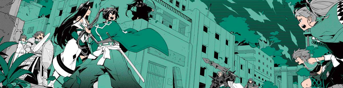 Log Horizon - La Brigade du Vent de l'Ouest - Manga