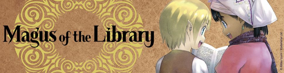 Magus of the Library - Manga