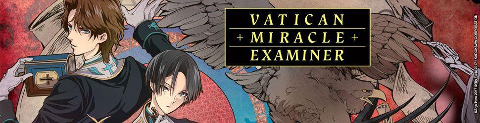 Vatican Miracle Examiner - Manga