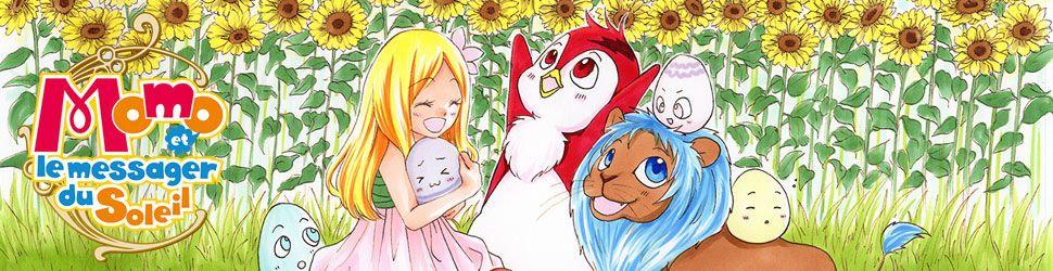 Momo et le messager du soleil - Manga