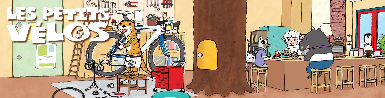 Petits vélos (les) - Manga