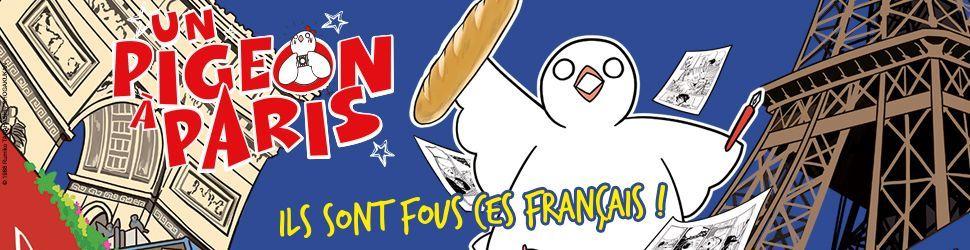 Pigeon à Paris (un) - Manga