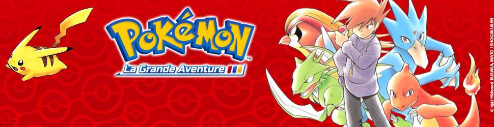 Pokémon - la grande aventure - Manga