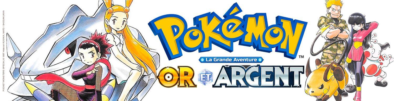 Pokémon - la grande aventure – Or et Argent - Manga