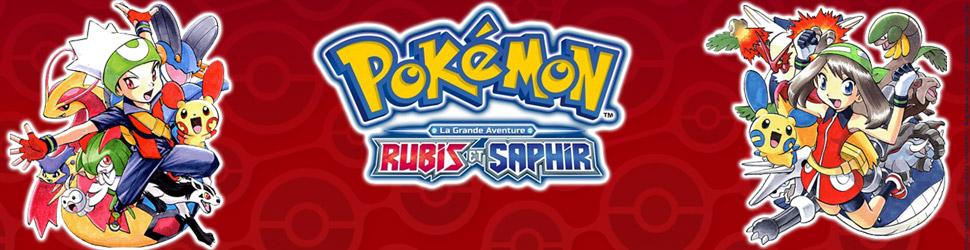 Pokémon - la grande aventure – Rubis et Saphir ! - Manga