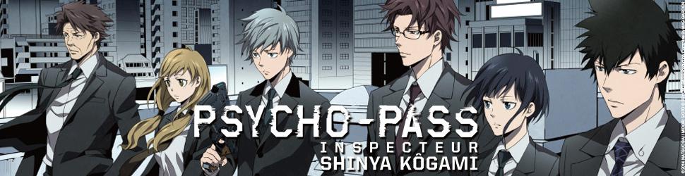 Psycho-pass Inspecteur Shinya Kogami - Manga