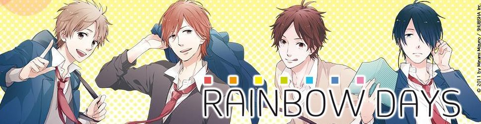 Rainbow Days - Manga