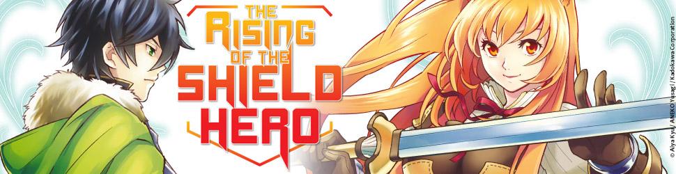 The rising of the shield Hero - Manga