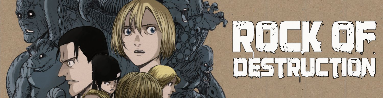 Rock of destruction - Manga