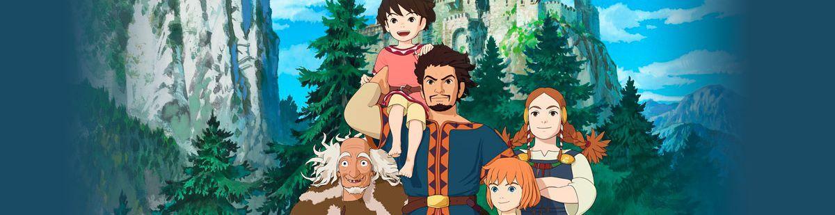 Ronja fille de brigand - Manga