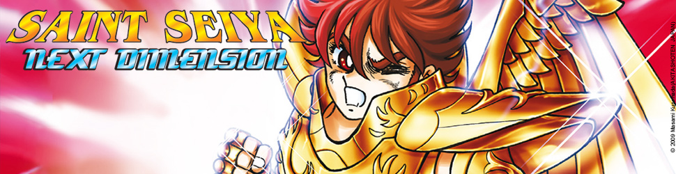 Saint Seiya Next Dimension - Manga